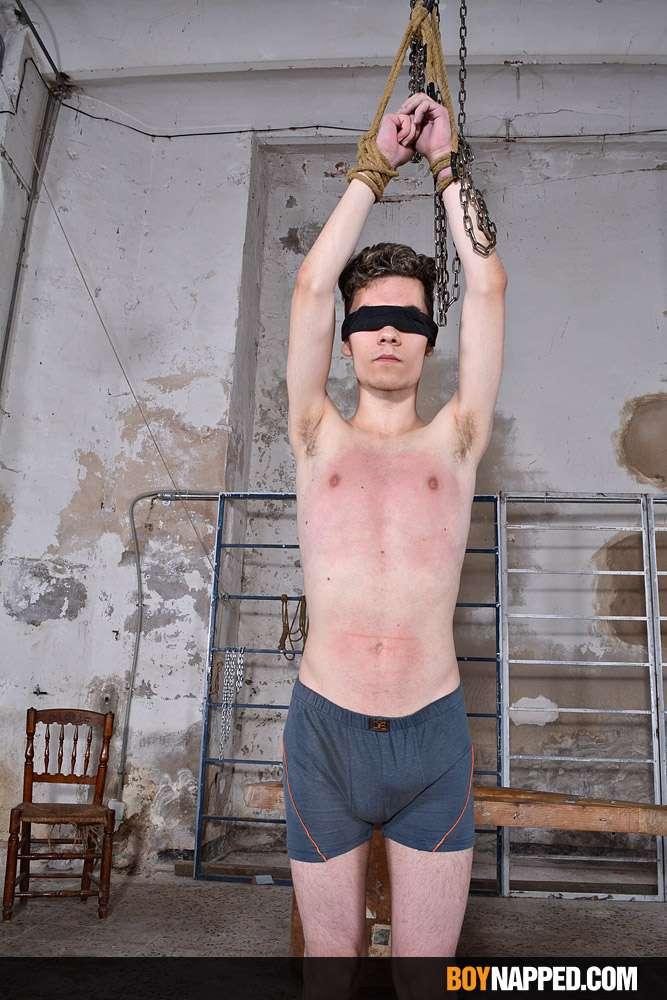 Teen boy slave